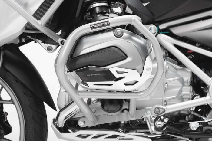 Set protectii Adventure Argintiu. BMW R1200GS LC (16-) / Rallye (17-). 1