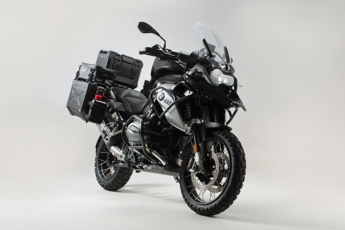 Set protectii Adventure Negru. BMW R1200GS LC (13-16). 0
