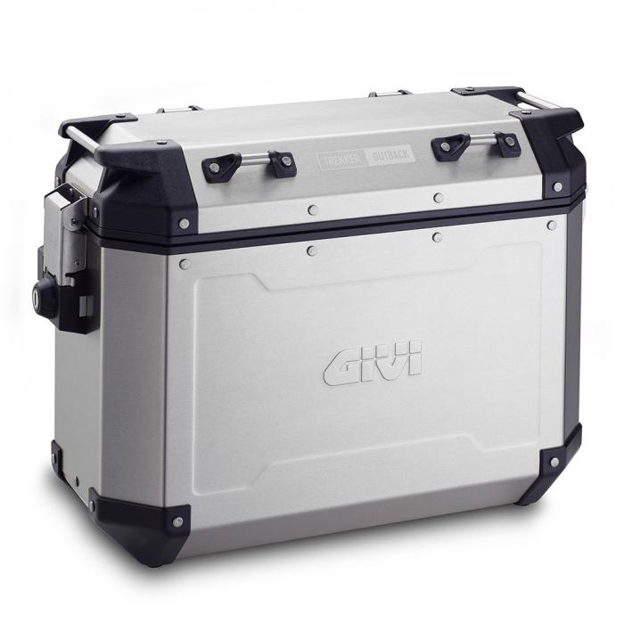 Set Side Case Givi Trekker Outback aluminiu stanga 1/48AL dreapta1/37AR [0]