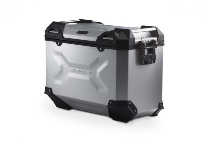 Side Case aluminiu TRAX ADV L 45 l. Dreapta. Argintiu. 49x28x37 cm. 0