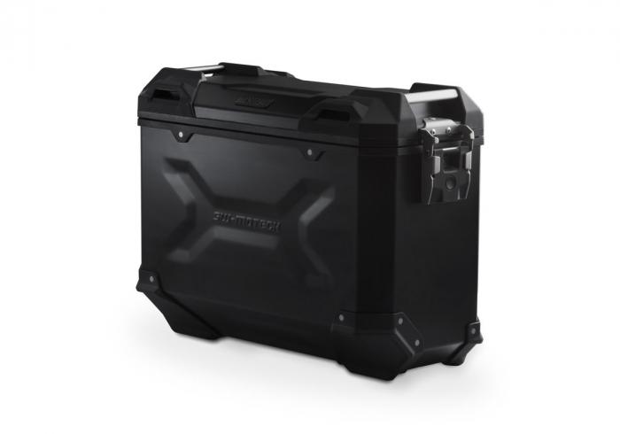 Side Case aluminiu TRAX ADV M 37 L. Dreapta. Negru. Ean: 4052572029435 0
