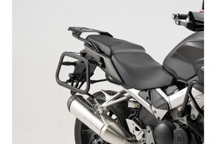 Sistem cutii laterale Trax Ion aluminiu Negru. 37/37 l. Honda VFR800X Crossrunner (15-). [2]