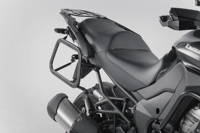 Sistem cutii laterale Trax Ion aluminiu Negru. 37/37 l. Kawasaki Versys 1000 (15-). [1]