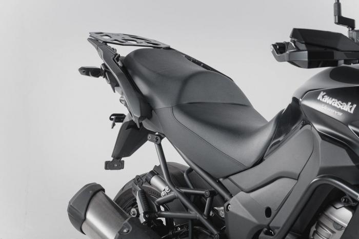 Sistem cutii laterale Trax Ion aluminiu Negru. 37/37 l. Kawasaki Versys 1000 (15-). [2]