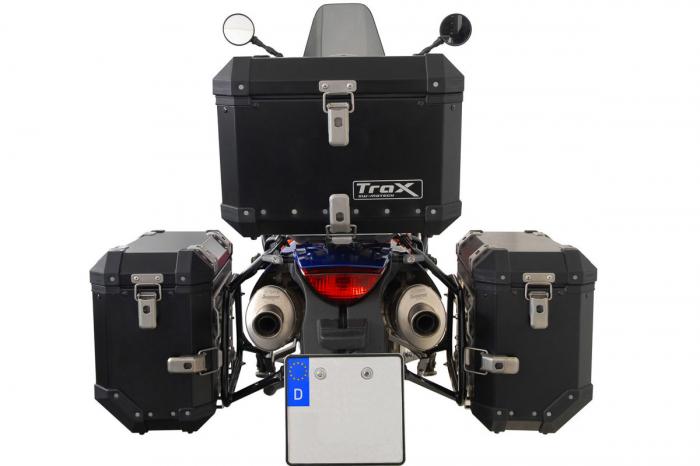 Sistem cutii laterale Trax Ion aluminiu Negru. 37 / 37 l.KTM 990 SM / SM-T / SM-R / 950 SM [4]