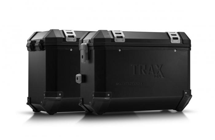 Sistem cutii laterale Trax Ion aluminiu Negru. 37/45 l. BMW F800 R (09-) / F800GT (12-16). [0]