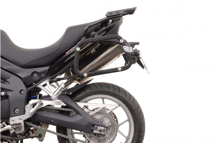 Sistem cutii laterale Trax Ion aluminiu Negru. 45/37 l. Triumph Tiger 1050 (06-12). [1]