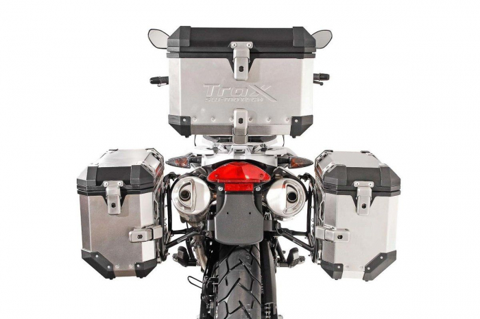Sistem cutii laterale Trax Ion aluminiu Negru. 45 / 45 l. BMW F650GS (-07) / G650GS (11-) [2]