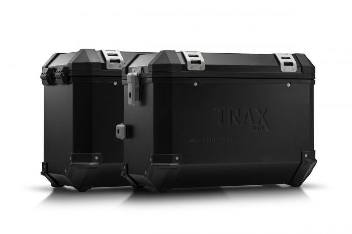 Sistem cutii laterale Trax Ion aluminiu Negru. 45/45 l. Kawasaki Versys 1000 (15-). [0]