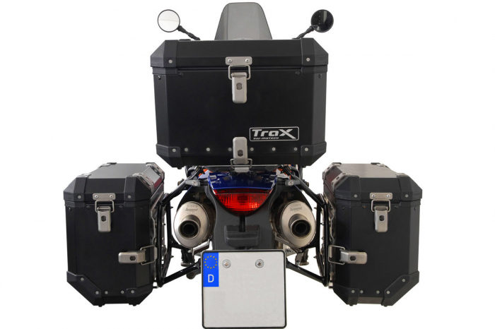 Sistem cutii laterale Trax Ion aluminiu Negru. 45 / 45 l. KTM 950 Adv. / 990 Adv. (03-). [3]