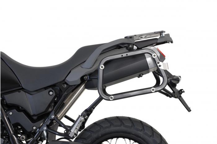 Sistem cutii laterale Trax Ion aluminiu Negru. 45 / 45 l. Yamaha XT 660 Z Tenere (07-). [1]