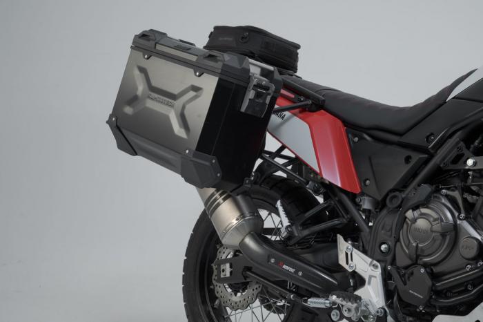 Sistem cutii laterale Trax Adv aluminiu 37/37 l. + Akrapovic Yamaha Ténéré 700 (19-20). [2]