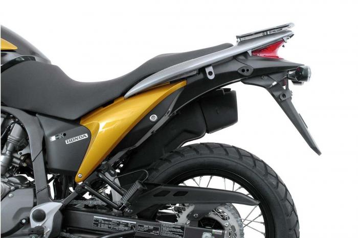 Sistem cutii laterale TRAX ADV aluminiu Negru . 37/37 l. Honda XL 700 V Transalp (07-12). 2