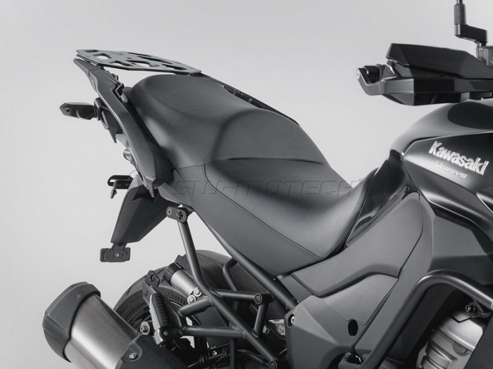 Sistem cutii laterale Trax Adv aluminiu Negru . 37/37 l. Kawasaki Versys 1000 (15-). [3]