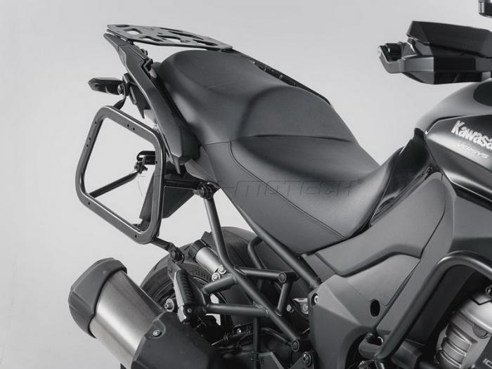 Sistem cutii laterale Trax Adv aluminiu Negru . 37/37 l. Kawasaki Versys 1000 (15-). [2]