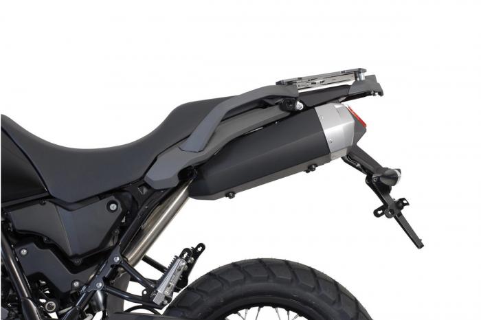Sistem cutii laterale Trax Adv aluminiu Negru . 37/37 l. Yamaha XT 660 Z Tenere (07-). [2]