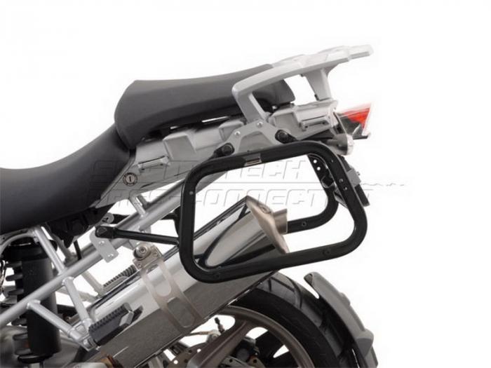 Sistem cutii laterale Trax Adv aluminiu Negru . 37/45 l. BMW R 1200 GS (04-12) / Advent. [1]