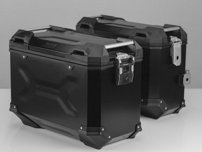 Sistem cutii laterale Trax Adv aluminiu Negru . 37/45 l. BMW R 1200 GS (04-12) / Advent. [0]