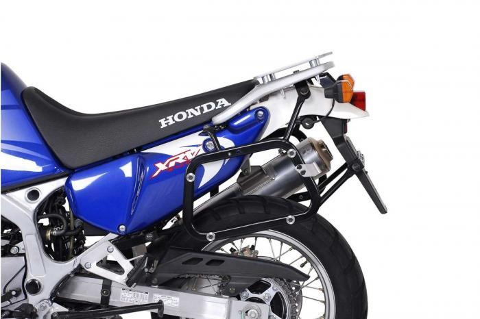 Sistem cutii laterale Trax Adv aluminiu Negru . 45/37 l. Honda XRV750 Africa Twin (93-03). 1