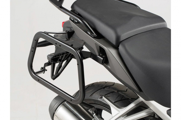 Sistem cutii laterale Trax Adv aluminiu Negru . 45/45 l. Honda VFR800X Crossrunner (15-). [3]