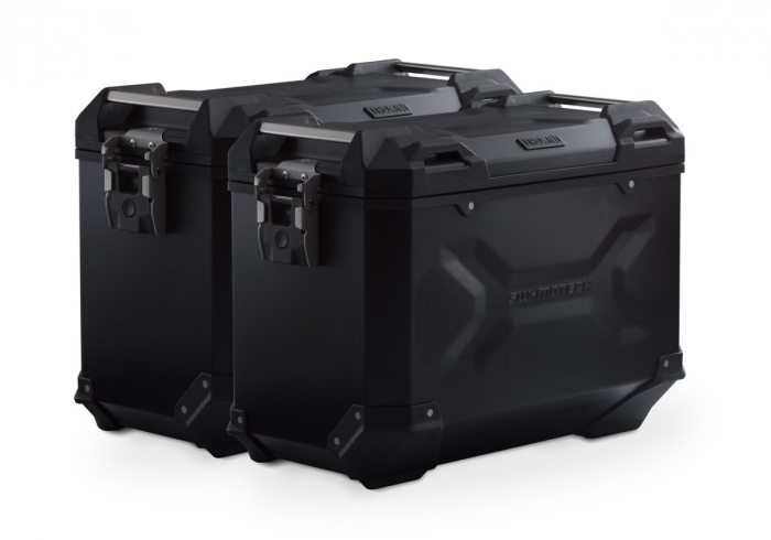 Sistem cutii laterale Trax Adv aluminiu Negru . 45/45 l. Honda XL 700 V Transalp (07-12). [0]