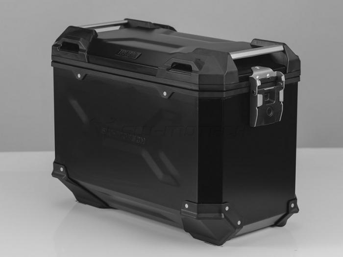 Sistem cutii laterale Trax Adv aluminiu Negru . 45/45 l. Kawasaki Versys 650 (15-). [0]