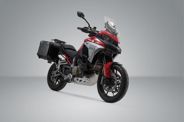 Sistem cutii laterale Trax Ion aluminiu 37/37 l. Ducati Multistrada V4 (20-) [1]