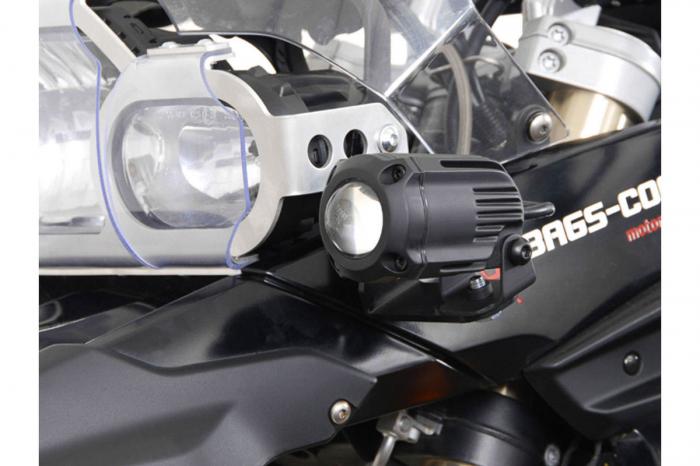 Sistem montare proiectoare ceata negru. BMW F 800 GS / F 650 GS. [1]