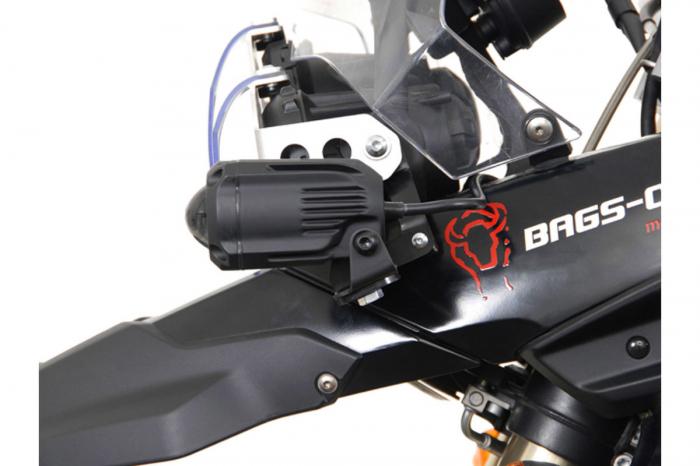 Sistem montare proiectoare ceata negru. BMW F 800 GS / F 650 GS. [2]