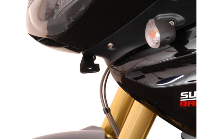Sistem montare proiectoare ceata negru. Triumph Tiger 1050i. (06-). [3]