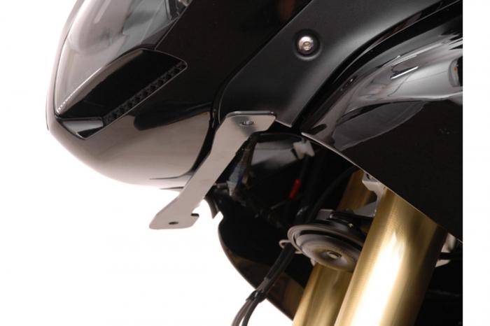 Sistem montare proiectoare ceata negru. Triumph Tiger 1050i. (06-). [4]