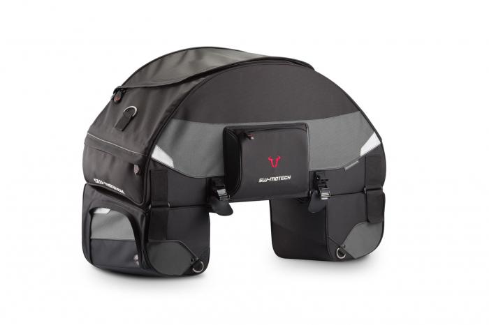 Speedpack tail bag 75-90 l. Ballistic Nylon. negru /Gri. 0