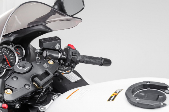 Suport cu absorbant soc pentru GPS Suzuki GSX R 1300 Hayabusa 2008-2012 [3]