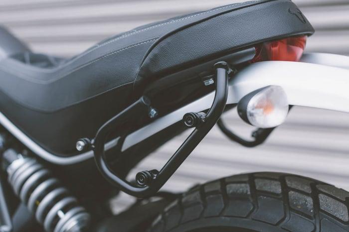 Suport geanta SLC stanga Ducati Scrambler (14-) models. 1