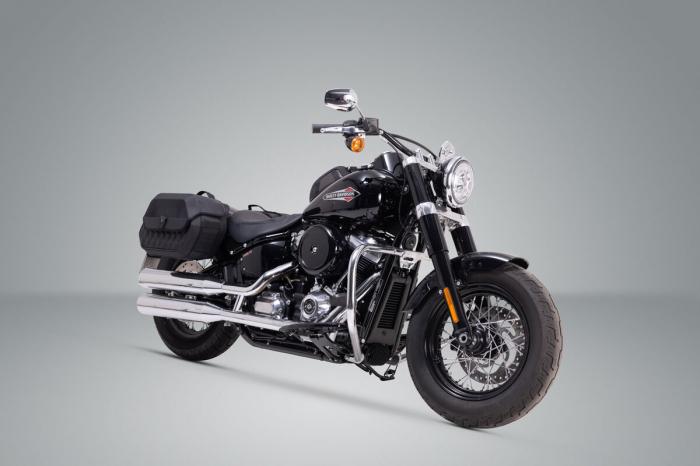 Suport geanta SLH LH1 stanga Harley-Davidson Street Bob/Slim/Standard [1]