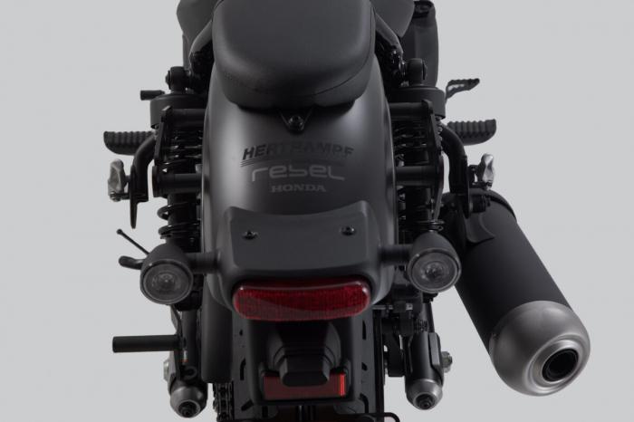 Suport geanta SLH LH2 stanga Honda CMX500 Rebel (16-). [6]