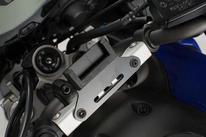 Suport GPS negru QUICK-LOCK pentru Yamaha MT-07 Tracer (16-) 1