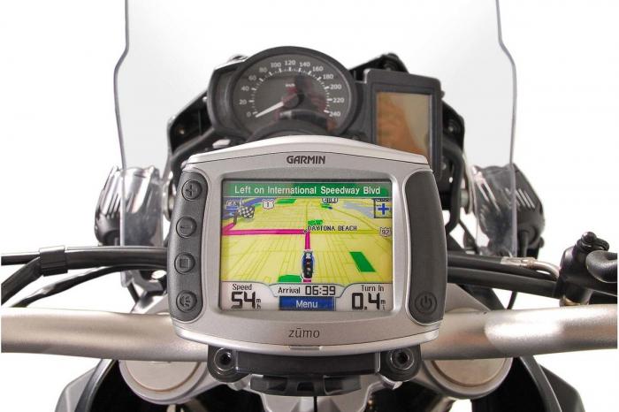 Suport Quick-Lock cu absorbant soc pentru GPS BMW F 650 GS Twin 2007-2011 3