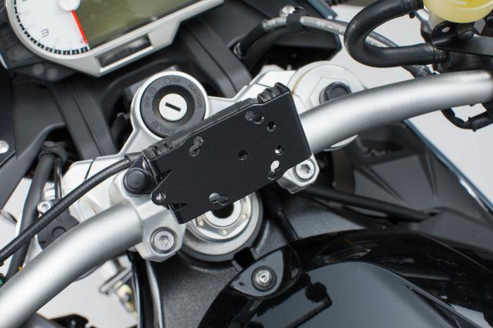 Suport Quick-Lock cu absorbant soc pentru GPS BMW S 1000 XR 2015- GPS.07.646.11201/B 0