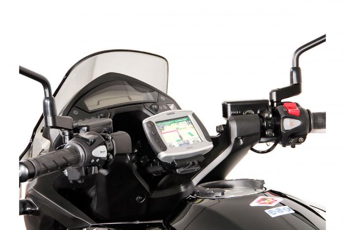 Suport Quick-Lock cu absorbant soc pentru GPS Honda VFR 800 X Crossrunner 2011-2014 0