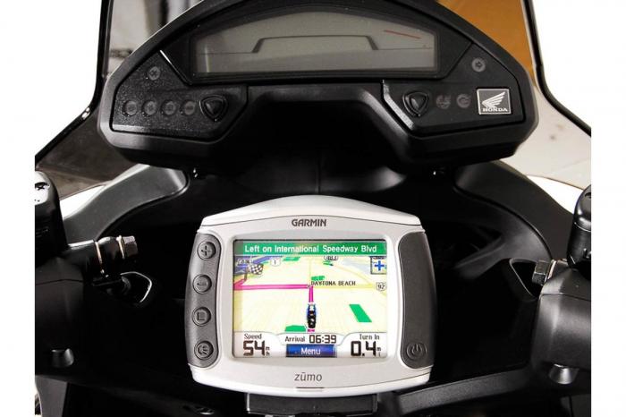 Suport Quick-Lock cu absorbant soc pentru GPS Honda VFR 800 X Crossrunner 2011-2014 3