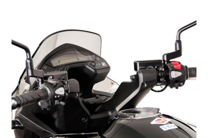 Suport Quick-Lock cu absorbant soc pentru GPS Honda VFR 800 X Crossrunner 2011-2014 2