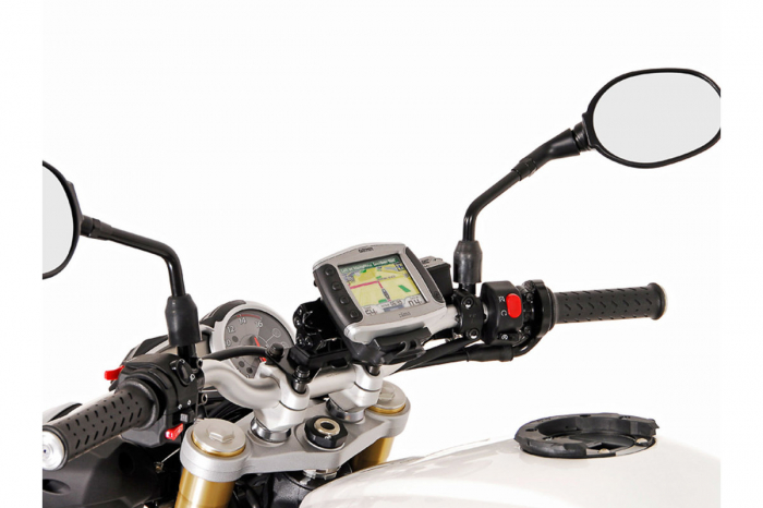 Suport Quick-Lock cu absorbant soc pentru GPS Kawasaki ER-6f 2006-2008 [0]