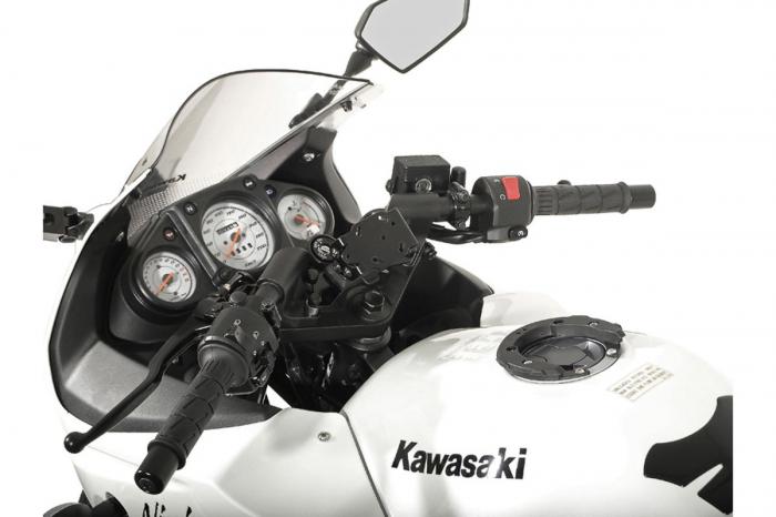 Suport Quick-Lock cu absorbant soc pentru GPS Kawasaki Ninja 250 R 2008- 1