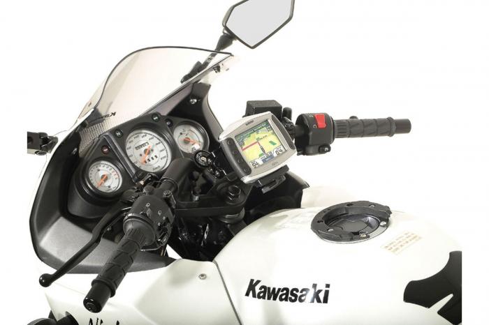Suport Quick-Lock cu absorbant soc pentru GPS Kawasaki Ninja 250 R 2008- 0