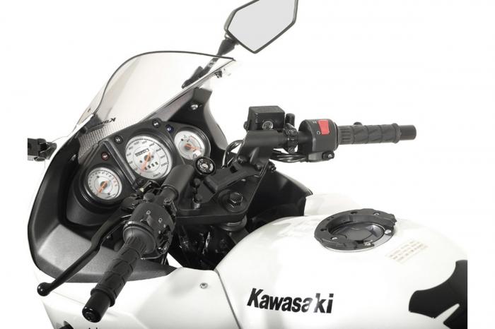 Suport Quick-Lock cu absorbant soc pentru GPS Kawasaki Ninja 250 R 2008- 2