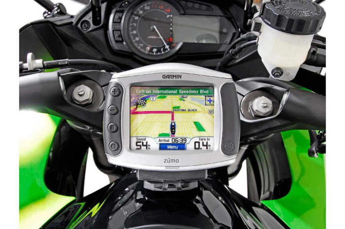 Suport Quick-Lock cu absorbant soc pentru GPS Kawasaki Z 1000 SX 2011-2013 3