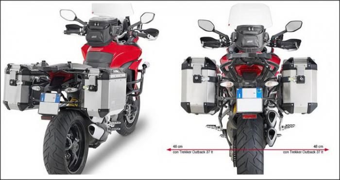 Suport Side Case MONOKEY Ducati Multistrada [0]