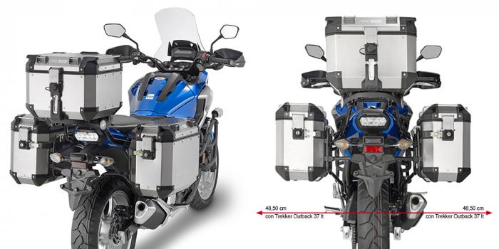 Suport Side Case MONOKEY Honda NC 700 X '18 [0]