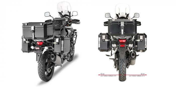 Suport Side Case Monokey Suzuki DL 1000 V-Strom (14>15) PL3105CAM [0]